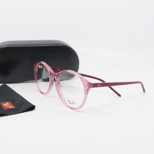 RB 5371 5966 Ray-Ban Round Pink Glasses 51mm